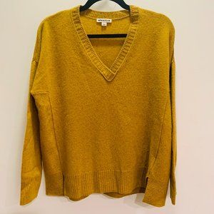 NWOT Whistles Hi-Low 100% Cashmere Sweater